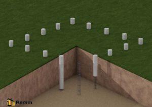 Свайные трубы для фундамента цена в Подольске